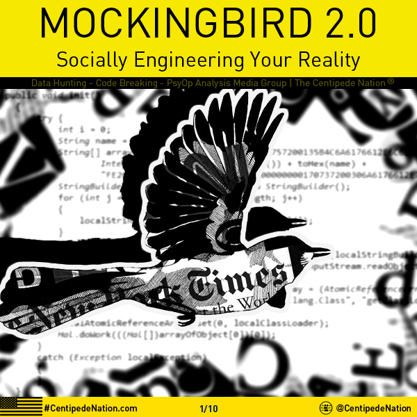 OPERATION MOCKINGBIRD 2.0 – A Social-Engineered Reality